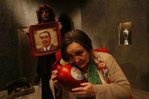 Zita Furková v Červenej princeznej.