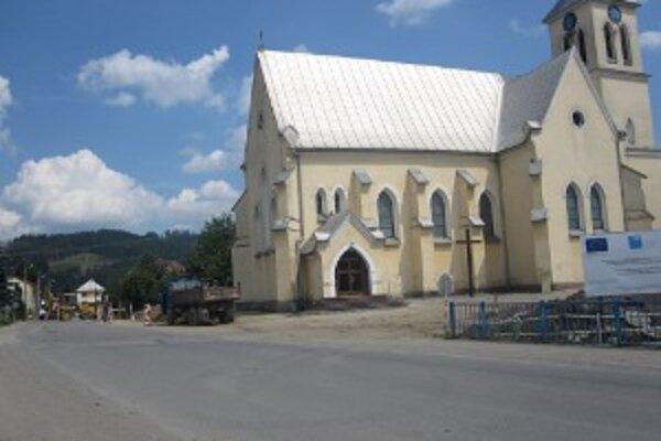 Námestie Jána Palárika. Dokončiť by ho mali do apríla 2012.