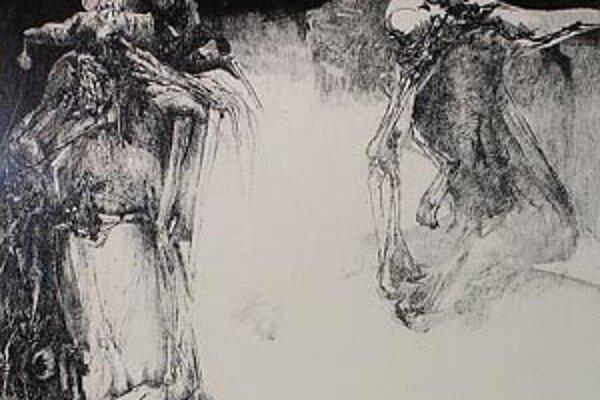 Diela poľského výtvarníka Adama Pociechu navodzujú nekonečný pristor smerujúci do vzduchoprázdna.