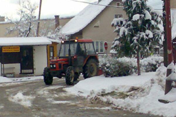 Snehová nádielka tento rok necháva na seba čakať.