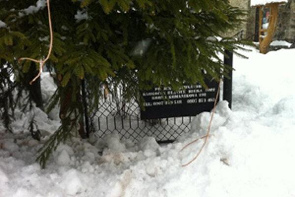 Vianočný stromček v Hornom Kelčove už nesvieti.