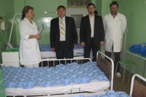 OZ Naša nemocnica podporilo ďalší z projektov Kysuckej nemocnice v Čadci.