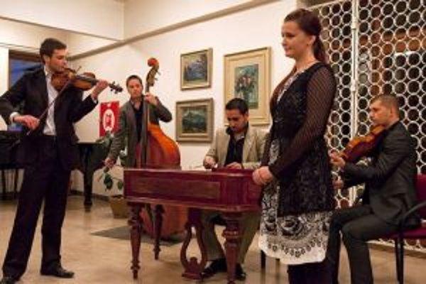 Zuzka Gacíková a Young Streeng Orchester navzájom skvele ladia. Aj preto plánujú spoločné CD.