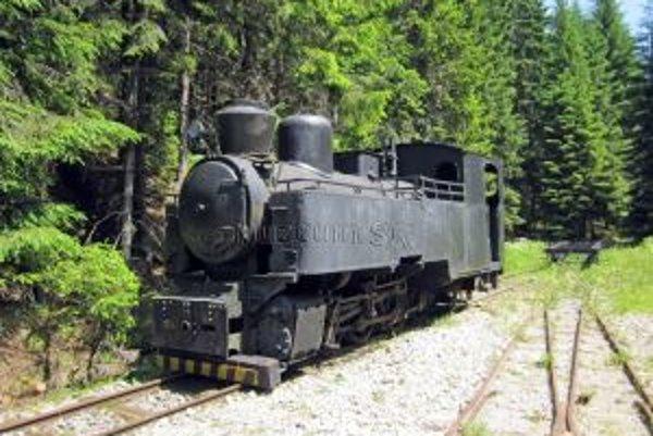 Historická železnička je najväčšou raritou kysuckého skanzenu.