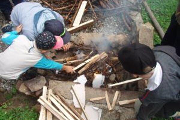 Deti z Náruče sa potešili aktivitám, ktoré pre ne cez leto pripravili.