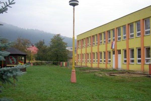 Materská škola čaká na svoju nadstavbu i rekonštrukciu.