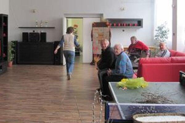 Nové priestory dôchodcovia celodenne využívajú.