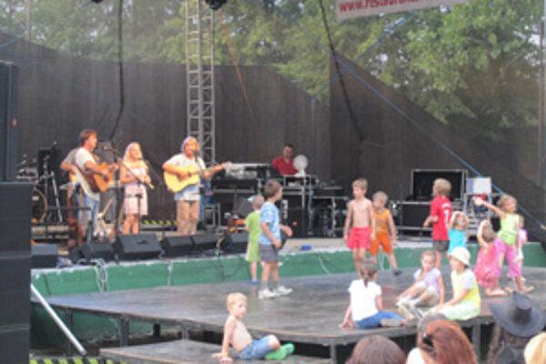 Žalmanovci na festivale v Turzovke vystúpili už druhýkrát.