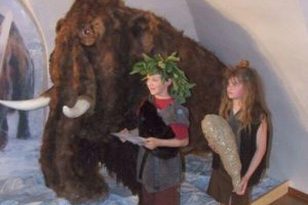 Mamut Radoľko je veľkým lákadlom najmä pre deti.