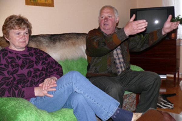 Manželia Krkoškovci žijú takisto vo veľkej neistote. Kde budú nakoniec bývať, nevedia.