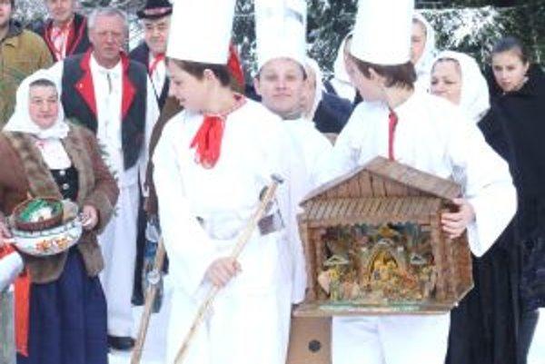 Betlehemci sú neodmysliteľnou súčasťou vianočných zvykov.