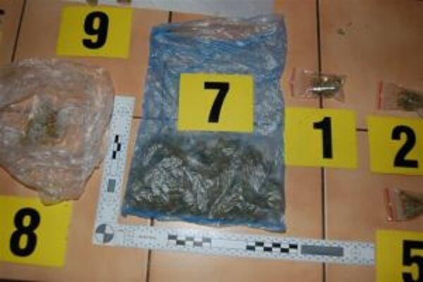 Policajti našli drogy u 24 a 26-ročných mladíkov.