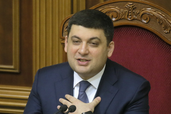 Ukrajinský premiér Volodymyr Hrojsman.