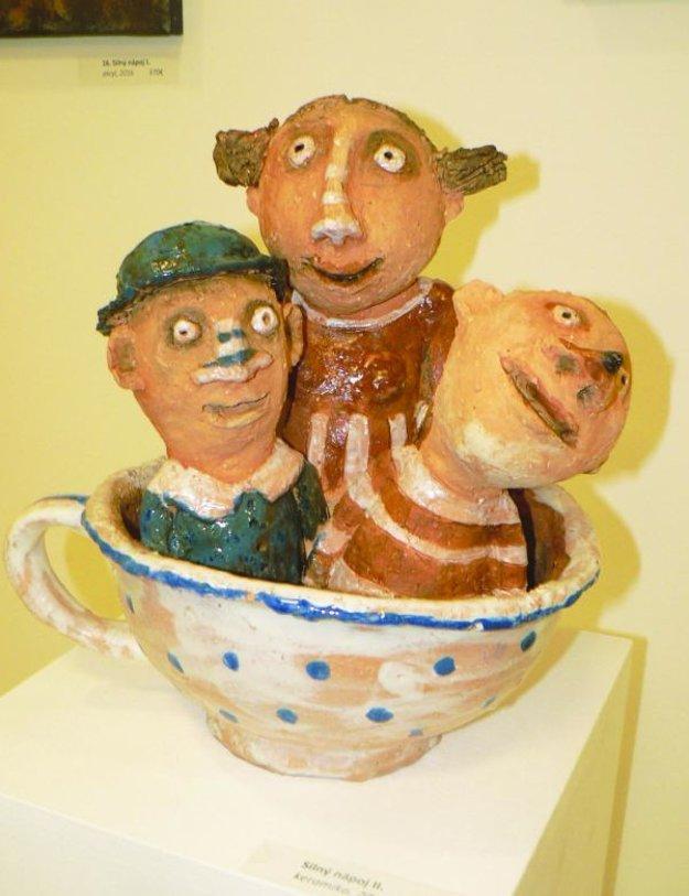 Nové veci z keramiky.
