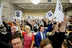 Za povolenie sobášov osôb rovnakého pohlavia v kostole hlasovalo 88 zo 115 členov prítomných na generálnej synode, ktorá je hlavným rozhodovacím orgánom nórskej evanjelicko-luteránskej cirkvi.