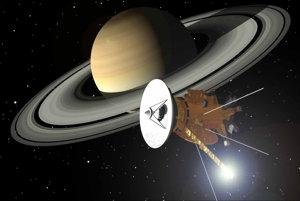Vesmírna sonda Cassini.