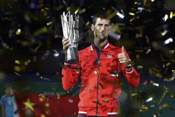Novak Djokovič je momentálne najlepší tenista na svete.