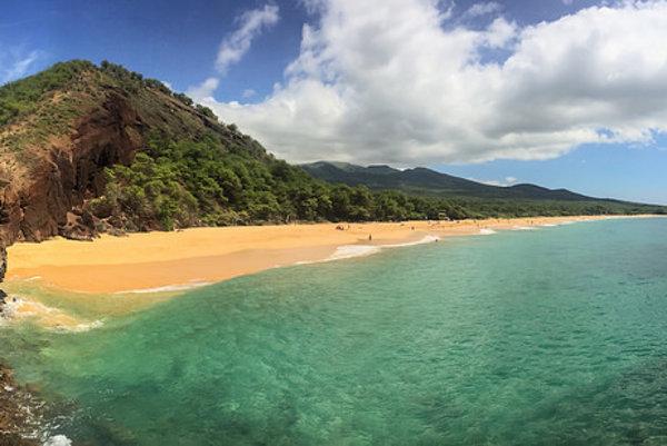 Makena Big Beach na havajskom ostrove Maui.