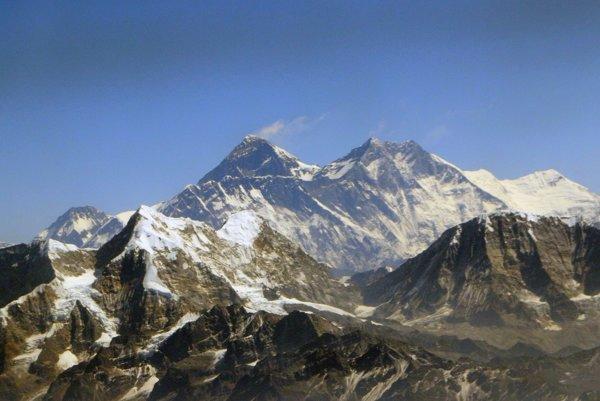 Mount Everest, 8848 m.