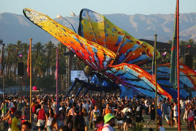 Organizátori festivalu Coachella si dávajú na jeho vzhľade záležať každý rok