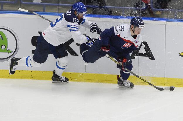Marko Daňo (vpravo) si obliekol reprezentačný dres aj vlani na majstrovstvách sveta v Česku.