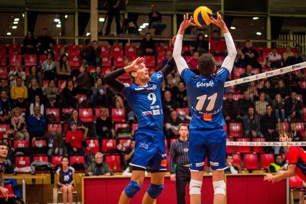 Volejbalisti zaznamenali druhé víťazstvo v sezóne.