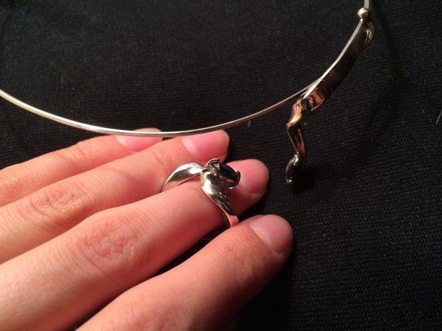 Českú porotu zaujala Paulína šperkami. Ich výrobe sa chce venovať aj naďalej.