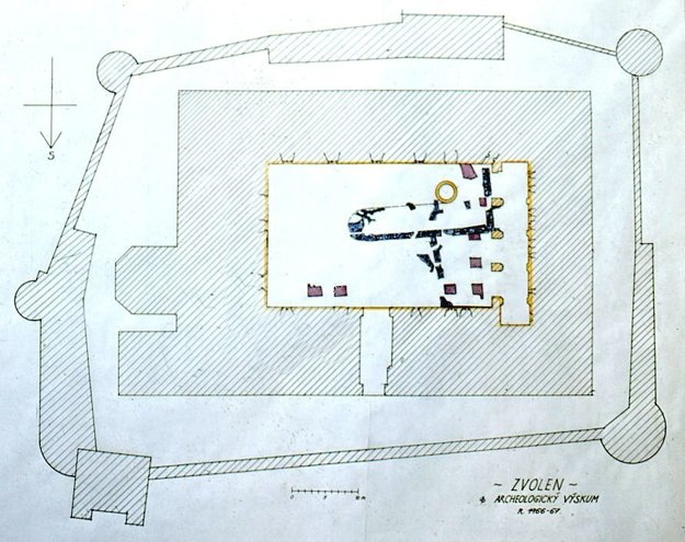 Rekonštrukcia sakrálnej stavby na nádvorí Zvolenského zámku.