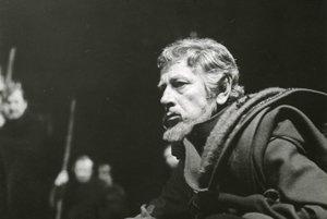 Karol Machata ako kráľ Lear.