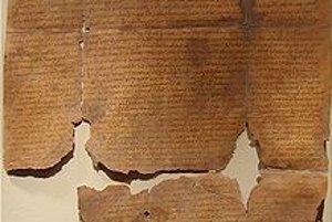 Zoborská listina z roku 1113.