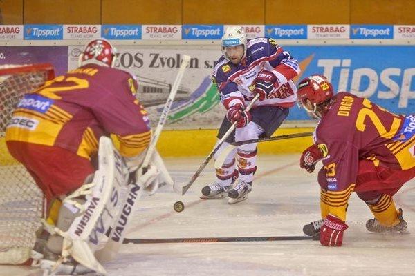 Trenčín prehral vo Zvolene o gól.