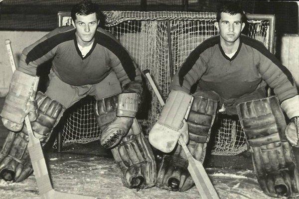 Ján Hajduk (vpravo), Jozef Rúčka (vľavo).