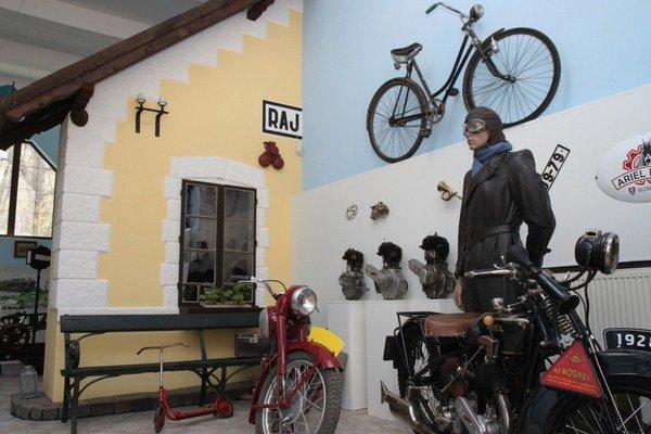 V Múzeu dopravy nájdete zaujímavú výstavu.