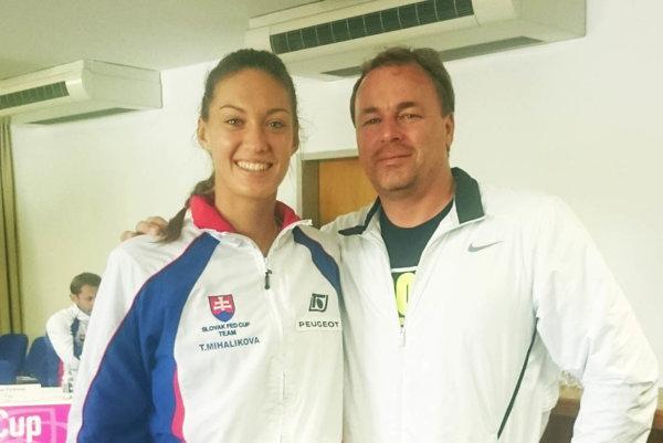 Tereza Mihalíková, zverenkyňa trénera Jána Studeniča, debutovala v ženskej reprezentácii SR vo Fed Cupe.