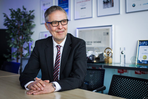 Generálny riaditeľ BMW Group Slovakia Michael Kordys.