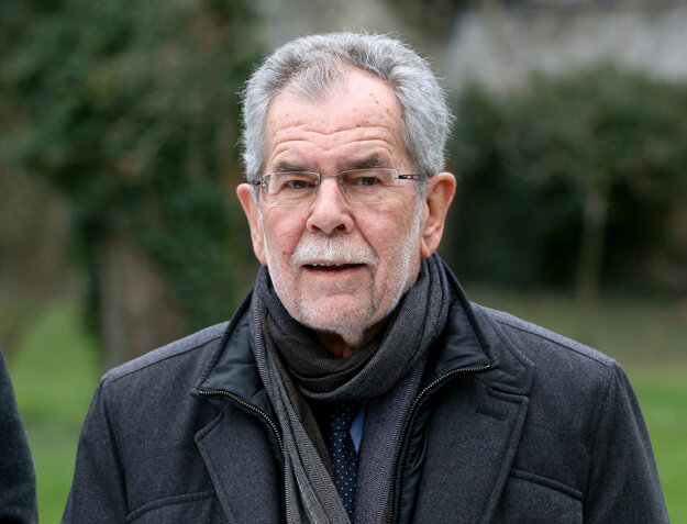 Kandidát zelených Alexander van der Bellen