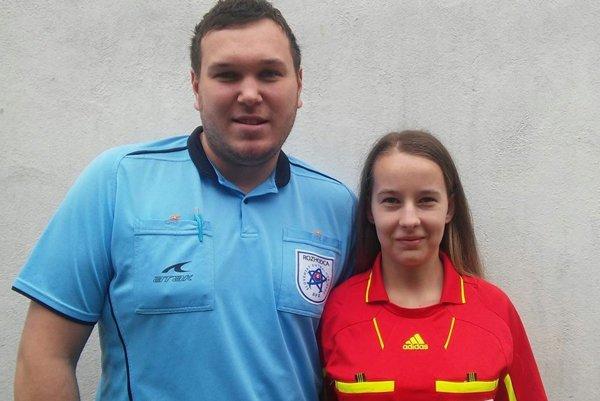 Ľubo Šišovský a Dominika Ševčivová tvoria pár na ihrisku aj mimo neho.