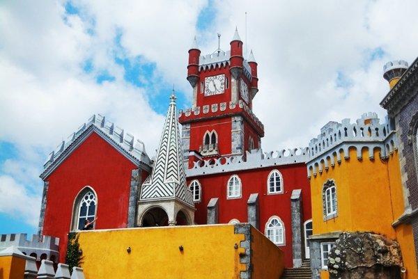 Zámok Palácio da Pena.