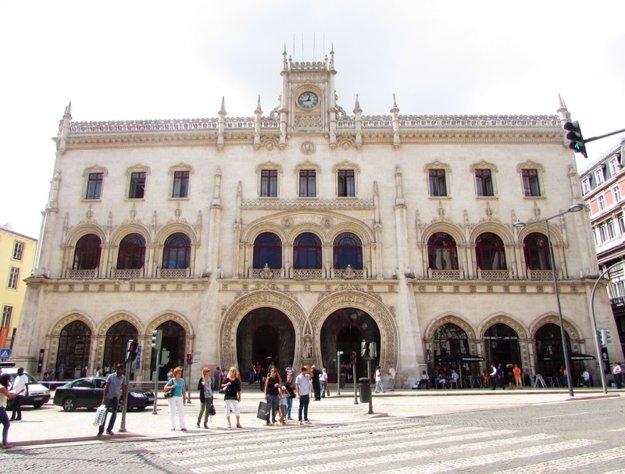 Vlaková stanica Rossio.