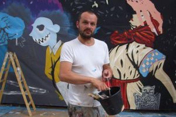Jedno z diel Erika Šilleho mohli v roku 2012 vidieť návštevníci Banskej Štiavnice aj na stene čakárne tamojšej železničnej haly.