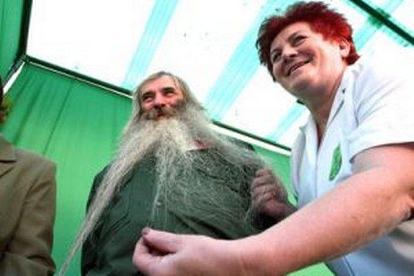 Súťaž o najdlhšiu bradu patrí medzi populárne podujatia počas Dní sv. Huberta.
