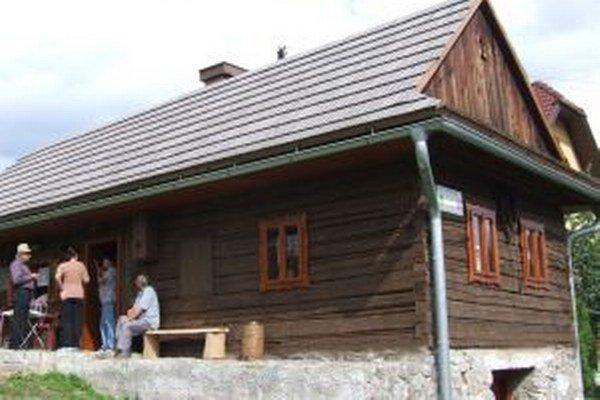 Župkovská drevenica.