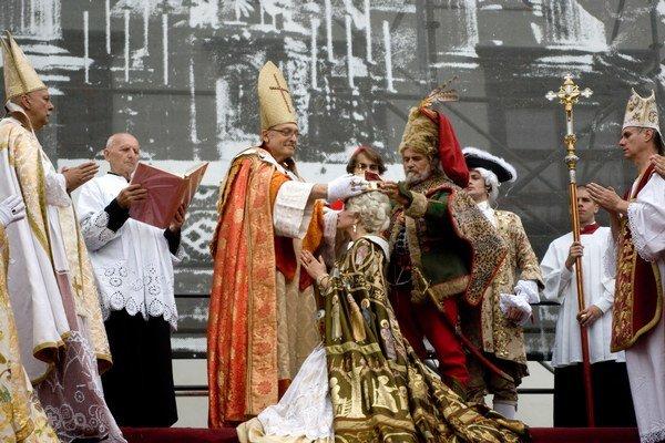 Mária Terézia už korunu dostala v roku 2011.