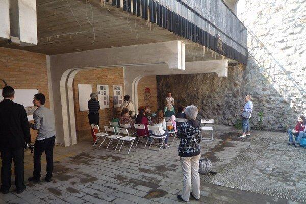 Priestor Baxovej veže otvorilo občianske združenie počas jarných Kapitulských dvorov.