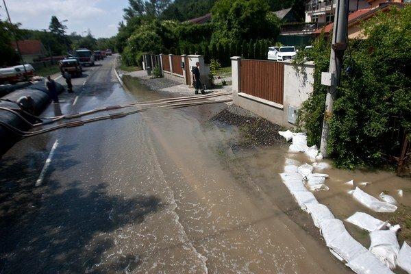 Devín potrápili v roku 2013 veľké povodne.