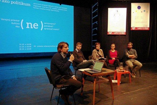 Minulý týždeň sa konala diskusia na tému potreby podpory kultúry v meste.