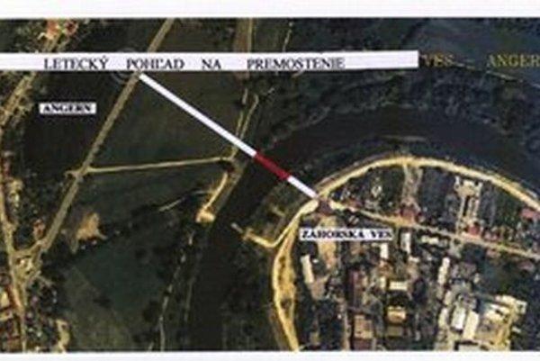 Most mal viesť zo Záhorskej Vsi do rakúskeho Angernu.