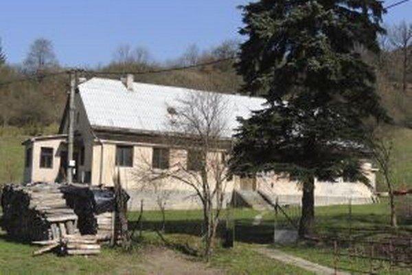 Budova bývalej škôlky v Kozelníku.