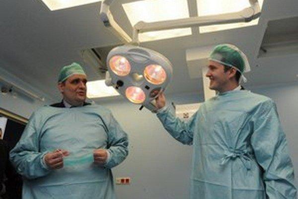 Predseda BSK Pavol Frešo v malackej nemocnici minulý rok.