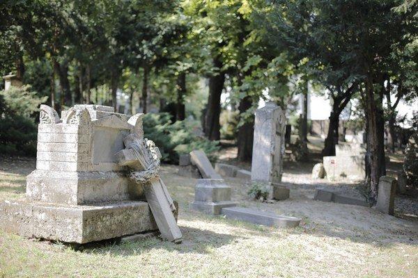Na cintoríne Kozia brána je zničených približne 40 pomníkov. Mnohé z nich sú kultúrnymi pamiatkami.